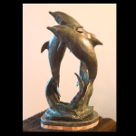 Playtime- Cast Bronze sculpture